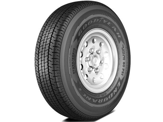 2 New Goodyear Endurance St205 75r15 107n D Dependable Trailer Tires