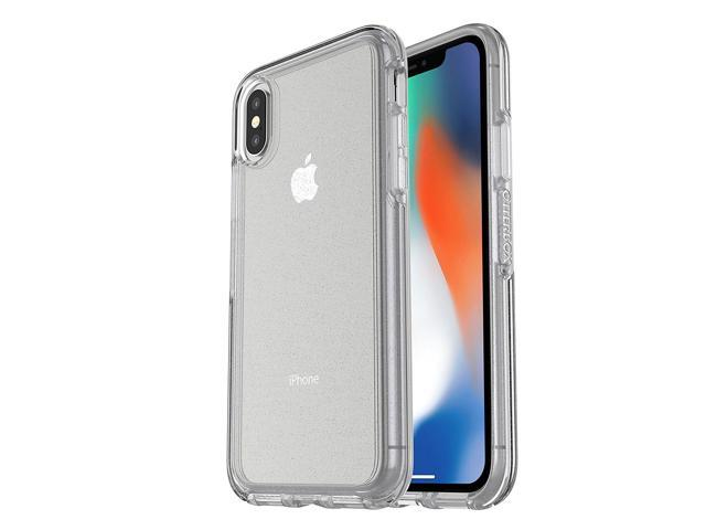 separation shoes 0dd37 0b5fd OtterBox SYMMETRY CLEAR SERIES Case for iPhone X Stardust - (Silver  Flake/Clear) - Newegg.com
