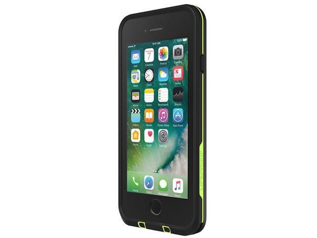 detailed look 15439 6ea47 Lifeproof FRE SERIES Waterproof Case for iPhone 8 Plus & 7 Plus - Night  Lite (Black/Lime) - Newegg.com