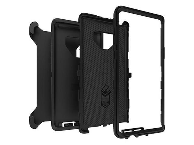 new arrival 52be2 8ae09 Otterbox DEFENDER SERIES Case for Samsung Galaxy Note 9 - Black - Newegg.com