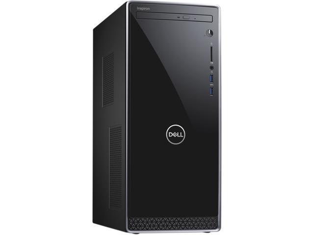 Dell Inspiron 3670 Desktop, 8th Gen Intel Core i5-8400 6-Core Processor, 8GB DDR4, 256GB SSD, DVD-RW, Wifi, Bluetooth, Intel UHD Graphics 630,HDMI,VGA,USB,Dual Monitor Capable, Windows 10 Pro 64 Bit