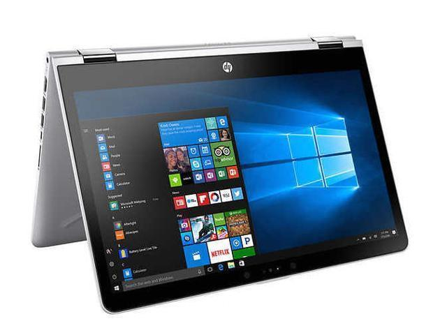 "HP Pavilion X360 14"" FHD Edge-to-Edge Glass Touchscreen 2-in-1 Laptop, 8th Gen Intel Core i5-8250U,8GB DDR4 RAM, 128GB SSD,Intel® UHD Graphics 620,Wifi-AC,BlueTooth 4.2,B&O Audio,Windows 10 Pro"