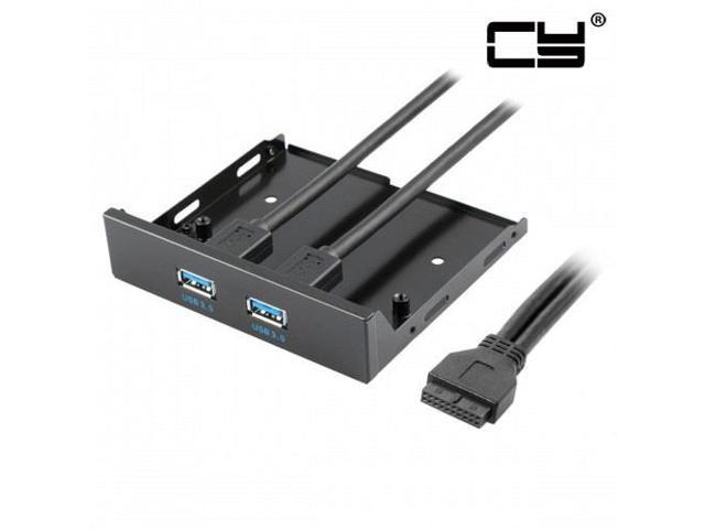 CHENYANG USB 3 0 Dual Port Front Panel to Motherboard 20Pin Connector Cable  for PC 3 5