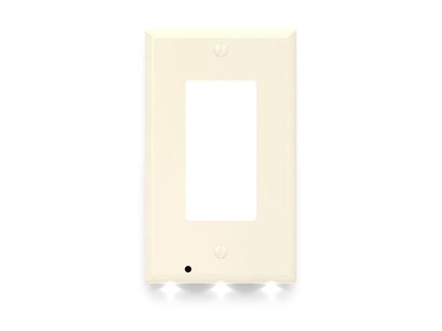 2 Pack Snappower Guidelight Outlet Wall Plate With Led Night