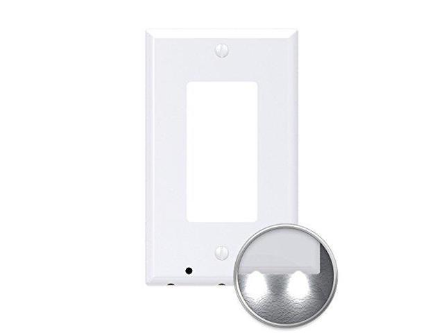 3 Pack Snappower Guidelight Outlet Wall Plate With Led Night Lights