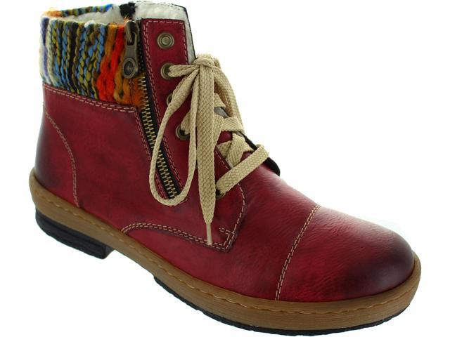 Details about Ladies Rieker Warm Lined Ankle Boots Z6721