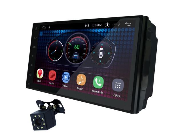 027c691ad489 UGAR 7 inch Universal Android 6.0 Full Touch Screen Headunit + Free Offline  GPS Map + Free Backup Camera + Wifi + GPS + Bluetooth + AM FM + MP3 4 5 +  USB ...