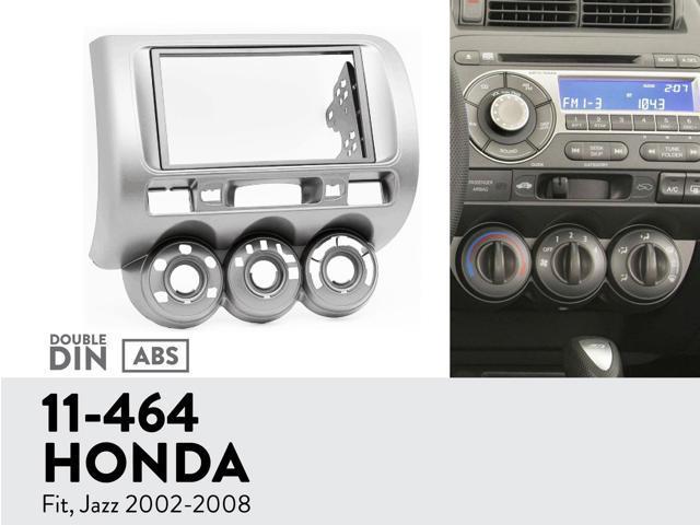 11 464 Ugar Radio Installation Mounting Kit For Honda Fit Jazz