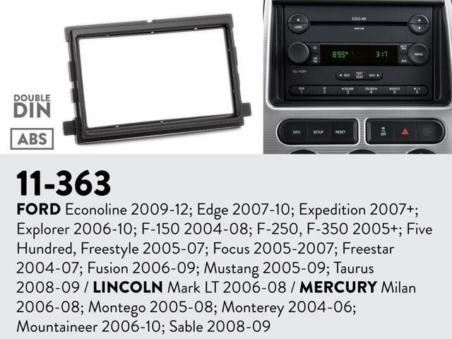 2005 ford explorer radio installation kit