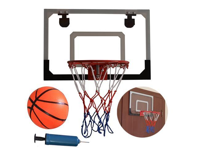 Basketball Hoop Over The Door Backboard Indoor Office Play Ball Net Sports  Game
