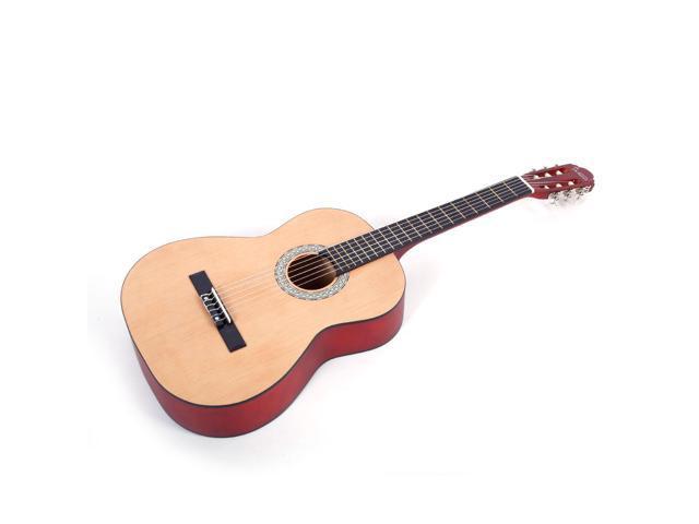 New Glarry 39 6 Strings Spruce Panel Classic Folk Acoustic Guitar