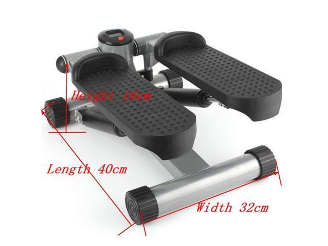 Aerobic Step Fitness Air Stair Climber Stepper Exercise Machine Equipment  Silver - Newegg com