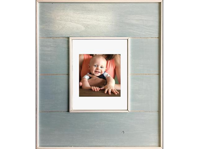 14x18 Seabreeze Blue Picture Frame Medicine Cabinet, A Recessed Concealed Medicine  Cabinet That You Decorate