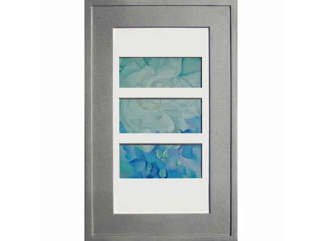 14x24 Silver Picture Frame Medicine Cabinet a recessed concealed medicine cabinet that you decorate yourself  sc 1 th 194 & 14x24 Silver Picture Frame Medicine Cabinet a recessed concealed ...
