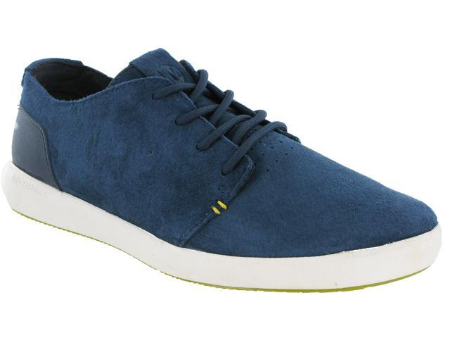 8f19881b9f40 Merrell Freewheel Bolt Lace Leather Suede Casual Mens Walking Shoes J71441  Navy