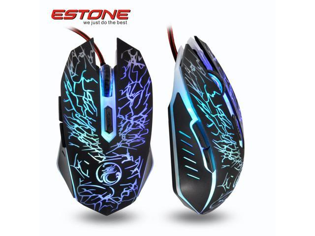 6aaa842ea10 6D 2400DPI Havit Magic Eagle Optical Usb Gaming Mouse + Colorful  Respiration LED