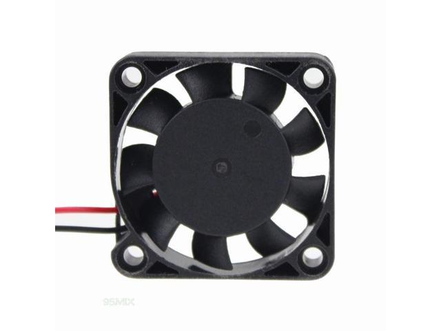 2Pcs 25mm 2510S 12V Mini DC Brushless Cooling Fan 25x10mm For PC Computer Cooler