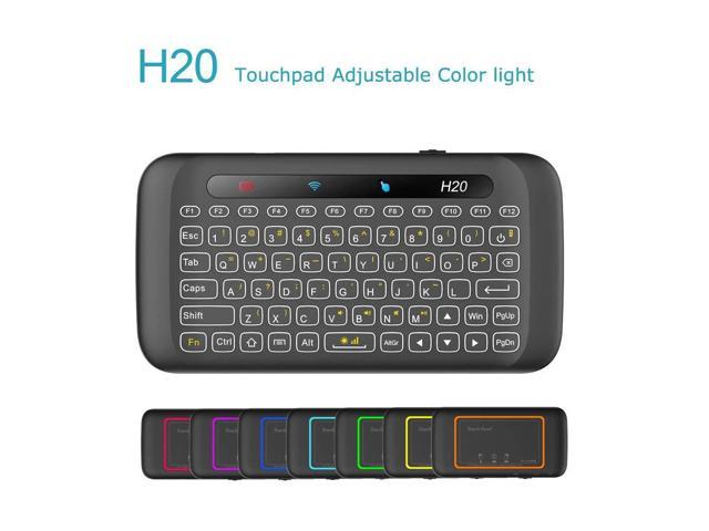 0d062ff9409 [2018 Updated] Dupad Story H20 2.4GHz Mini Wireless Keyboard with Remote  Mouse Combo