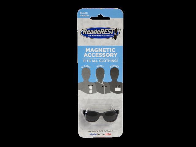 8fa6175f42f7 Black Shades Magnetic Eyeglass Holder