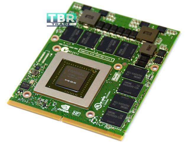 Dell M6600 M6700 4GB GDDR5 NVIDIA N14E-Q3-A2 Quadro K4000M Video Card 5DGTT