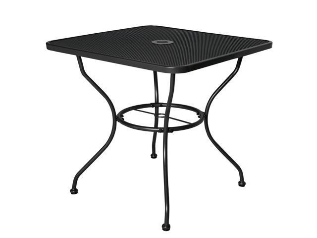 Fine 30 X 30 Outoor Dining Table Square Umbrella Stand Deck Outdoor Furniture Garden Table Newegg Com Frankydiablos Diy Chair Ideas Frankydiabloscom