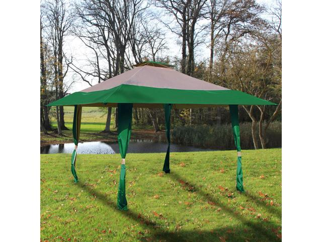 Cloud Mountain 13u0027 x 13u0027 Outdoor Patio Easy Pop-Up Double Roof Gazebo  sc 1 st  Newegg.com : vented pop up canopy - afamca.org