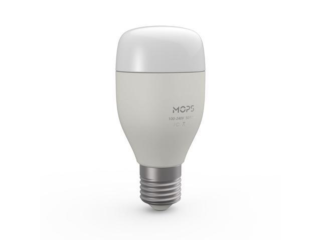 Wifi Light Bulb >> Mops Smart Wifi Led Light Bulb 6w E27 W Rgb Lamp App Remote Control