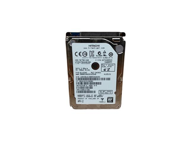 Hitachi Travelstar 5K750 750GB Internal 5400RPM 2.5 (0J11563) HDD