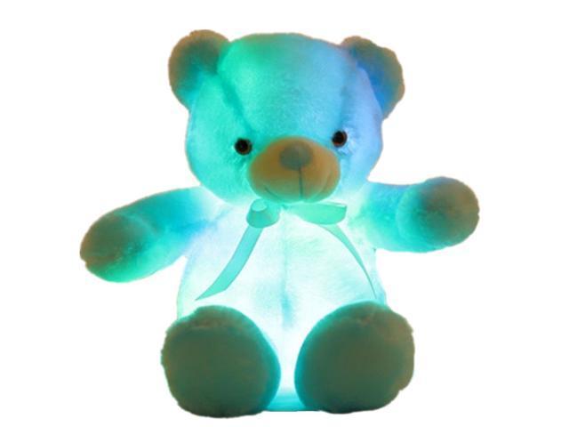 Creative Light Up Led Teddy Bear Stuffed Animals Plush Toy Colorful