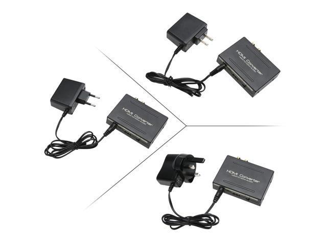 HDMI to HDMI Optical SPDIF + RCA L/R Converter Splitter 1080p Audio  Splitter HDMI Converter Adapter US EU UK For Apple TV/HDTV - Newegg com