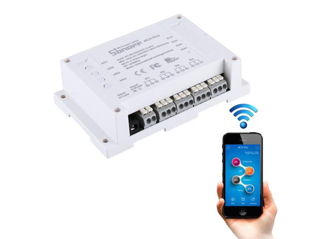 Sonoff TH16 DIY 16A Temperature and Humidity Module Remote Control WiFi  Smart Switch for Smart Home, Support iOS and Android - Newegg com