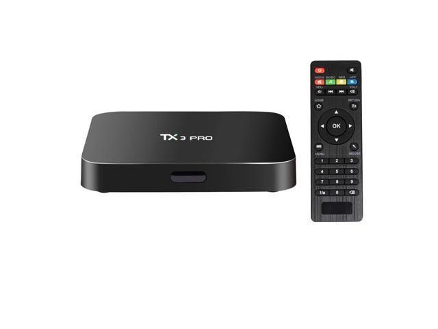 Oranth TX3 Pro 4K UHD Smart TV BOX with Remote Controller, Android 6 0  Amlogic S905X Quad Core, RAM: 1GB, ROM: 8GB, Support Kodi, DLNA, WiFi,