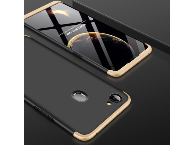 new style 85a4a 0850d GKK for OPPO F7 PC 360 Degrees Full Coverage Protective Case Back Cover  (Black + Gold) - Newegg.com