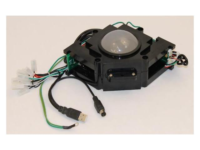 Track Ball 3 inch Arcade Game Trackball for PC or MAC USB, PS2 and on