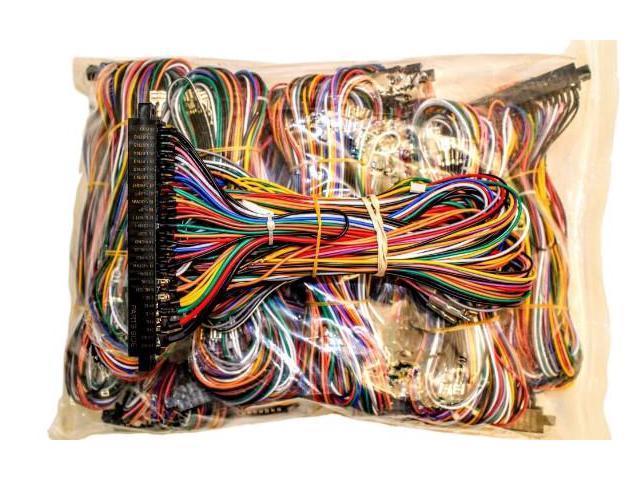 diagram, 1979 bronco turn signal jamma board standard cabinet wiring  harness loom for jamma 60     on sony wiring