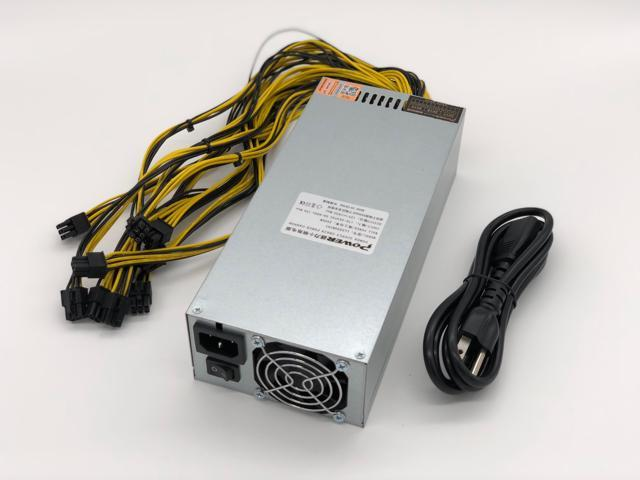 2500W Power Supply 94% High Efficiency for antminer S9 D3 A3 and L3 with  PSU Cable - Newegg com