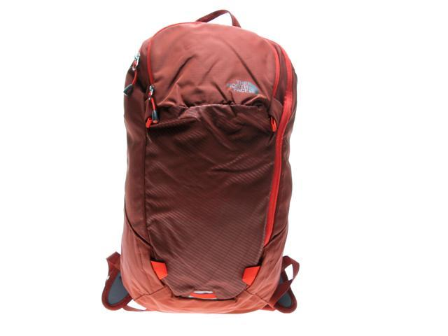 15245816a30a The North Face Pachacho Burnt Henna Brown Fiery Red Backpack C088N1W One  Size
