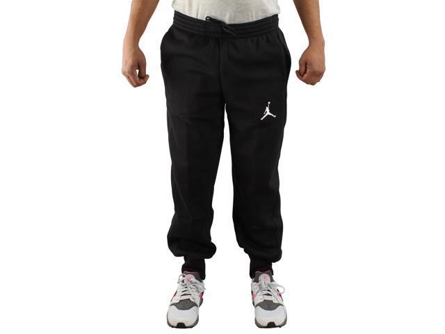 2ce2cbd80ca8a5 Nike Air Jordan Flight Fleece Black Men s Sweatpants 823071-010 Small