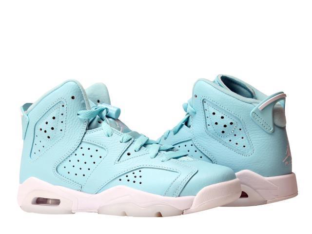 bcec2103a66e Nike Air Jordan 6 Retro GG VI Pantone Big Girls Basketball Shoes 543390-407  Size
