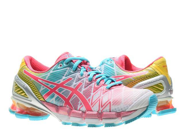 078e19b3a53b Asics Gel-Kinsei 5 White Teaberry Yellow Women s Running Shoes T3E9Y-0122