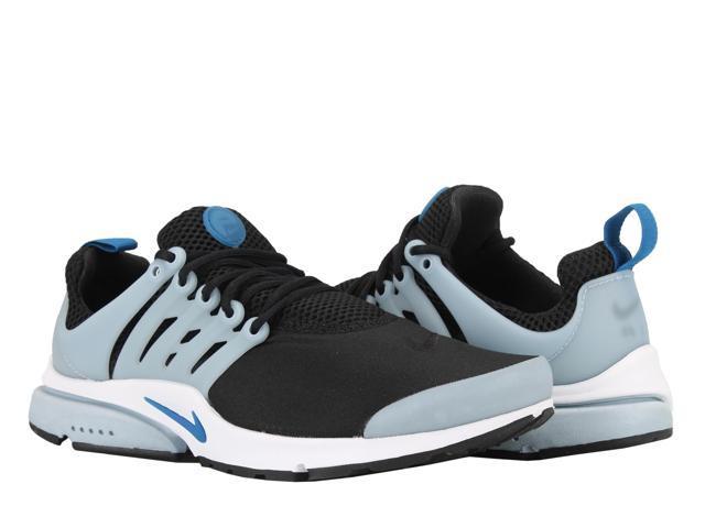 nike air presto indispensabile nero / blue jay armeria uomini scarpe da corsa