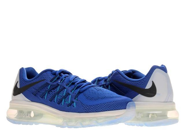 7195352785 Nike Air Max 2015 (GS) Game Royal/White Boys' Running Shoes 705457-401 Size  5.5