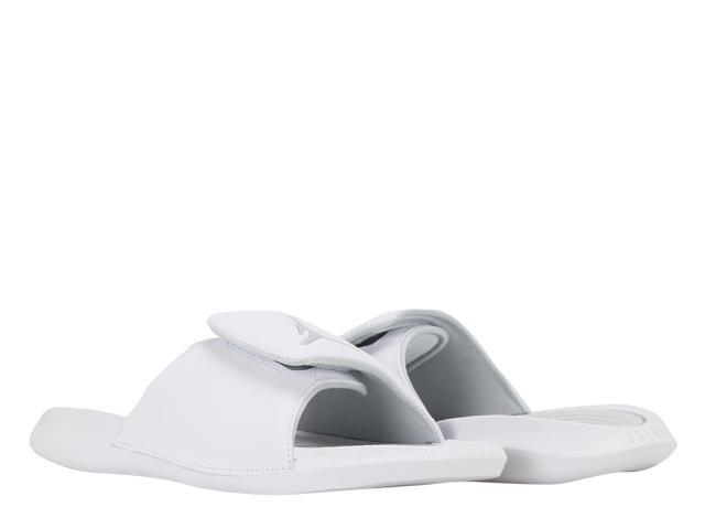 2810cb4ab7bd Nike Air Jordan Hydro 6 BG White Pure Platinum Big Kids Slides 881474-100
