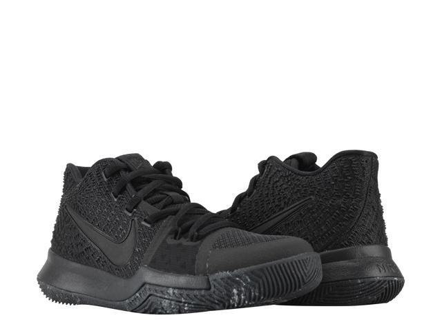 the latest 5b3f1 3a976 ... coupon for nike kyrie 3 gs triple black big kids basketball shoes  859466 005 size 052ea