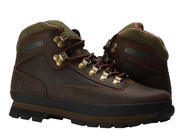50b94744b428e Timberland Euro Hiker Oiled Leather Brown Men s Hiking Boots 95100 Size  11.5M