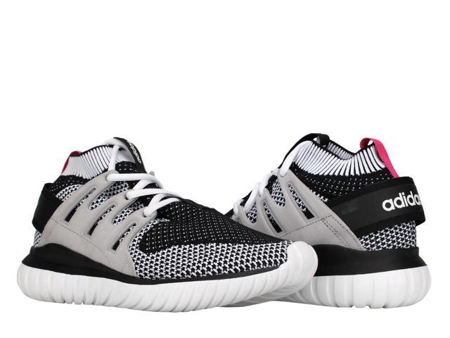 b15021adb961 Adidas Tubular Nova PK Primeknit White Black Men s Running Shoes S74918  Size 14