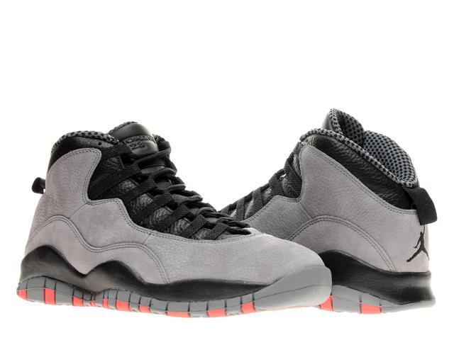 newest f2ec2 4d559 Nike Air Jordan 10 Retro Cool Grey Men s Basketball Shoes 310805-023 Size  10.5