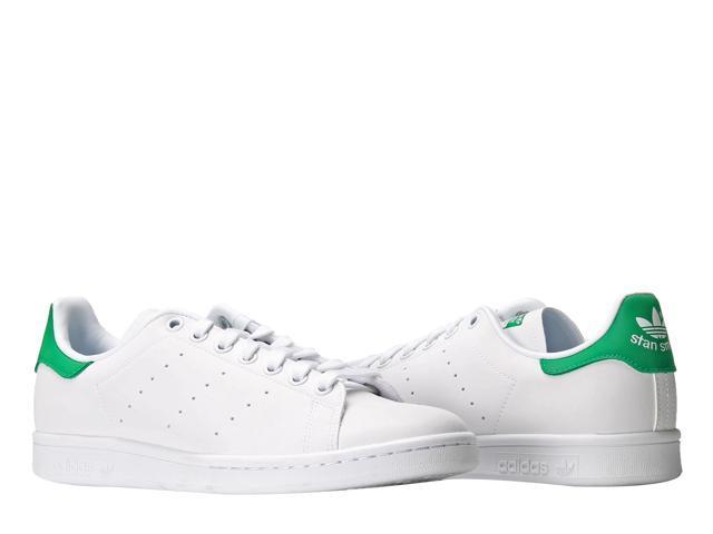 Adidas Originals Stan Smith 3M Reflective White/Green Men's Tennis Shoes AQ4775 Size 13