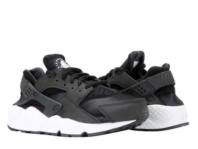Nike Air Huarache Run Black Black-White Women s Running Shoes 634835-006  Size 869348e0a
