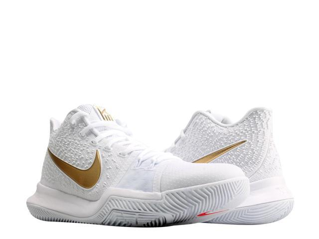 f09d88d0eea ... reduced nike kyrie 3 finals white gold mens basketball shoes 852395 902  size 11.5 fe21f 385b0